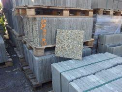 dlažba betonová vymývaná, jemná, hrubá 40x40