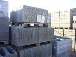 dlažba betonová vymývaná, hrubá, jemná 60x40 cm