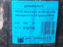 trubka Gabotherm 18x2mm PD DD s plast.chráničkou, na podlahové topení