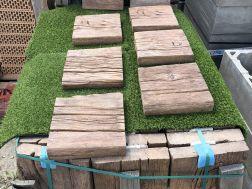 Dlažba betonová imitace dřeva